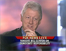 President Clinton interview by Greta