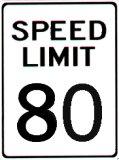 Speed Limit 80