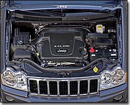 Jeep Grand Cherokee 3.0-liter CRD