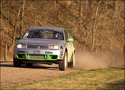 Rally VW at 100Acre Race MO