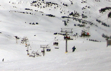 Sunshine Village Ski Lifts