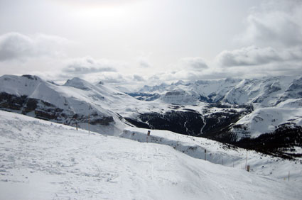 Skiing Sunshine Village
