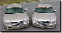 Twin Chrysler 300c's