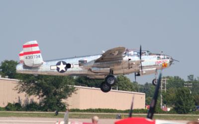 B25 Landing