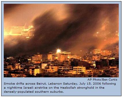Beirut Lebanon July 15, 2006