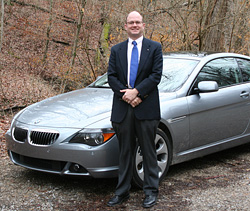 BMW 650i and Dave Lewis