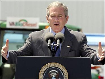 Bush Visits Virginia Biodiesel Facility