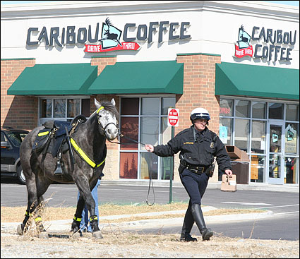 Caribou Coffee and WC Police