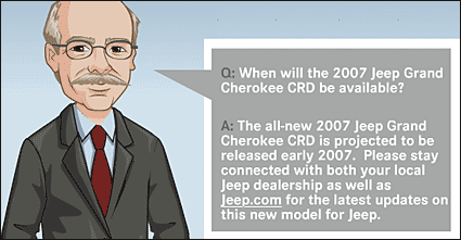 Dr Z on Grand Cherokee CRD