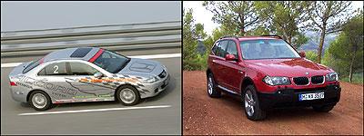 Honda and BMW Diesels