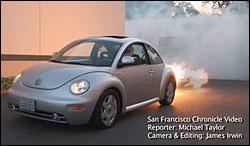 Jet Powered Beetle