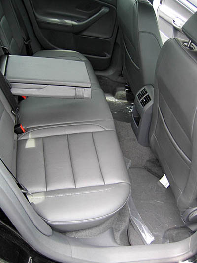 Jetta 5 TDI Rear Seat Room