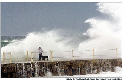 Katrina waves bash Jetty