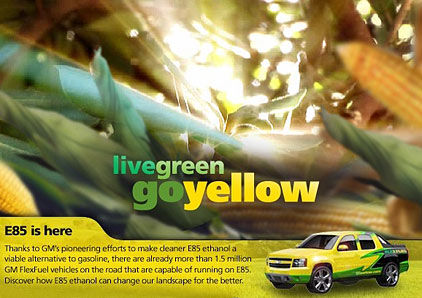 Live green Go yellow