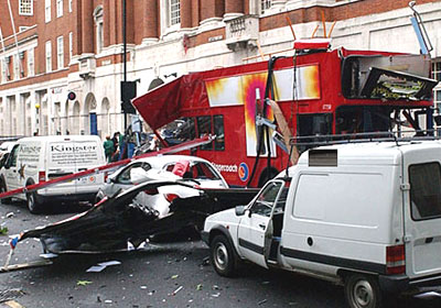 London Bombing Bus
