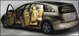 Mercedes R class diesel