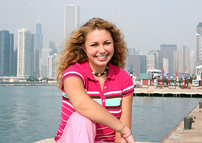 Katelyn and the Chicago Skyline