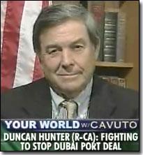 Rep Duncan Hunter (R-CA)