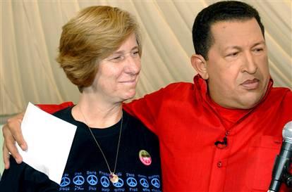 Cindy Shehan and Hugo Chavez