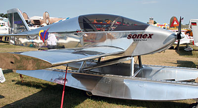 Sonex on floats