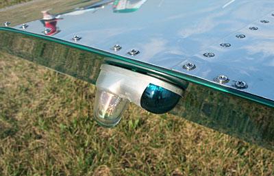 Sonex wing tip lights