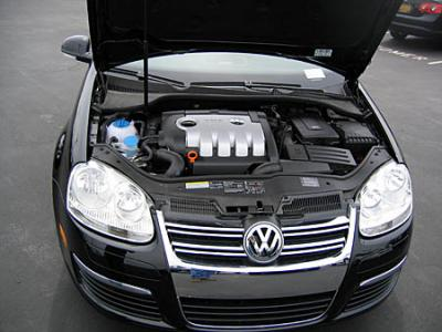 Jetta 5 TDI Under the Hood