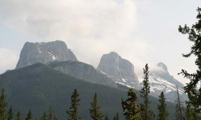 Three Sisters in Alberta
