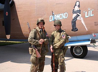 War bird and Uniforms