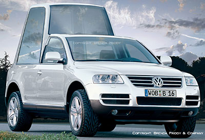 VW Pope Mobile