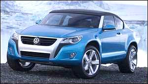 VW Golf SUV Look