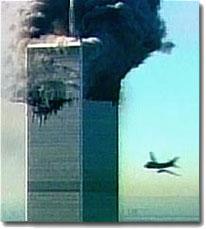 World Trade Center hit