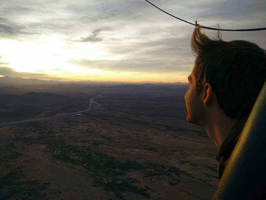 Drew ballooning over AZ