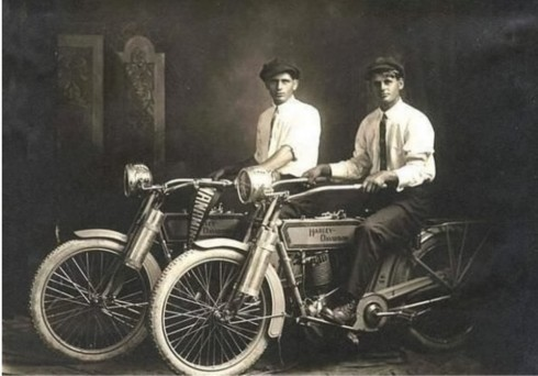 Harley and Davidson 1914