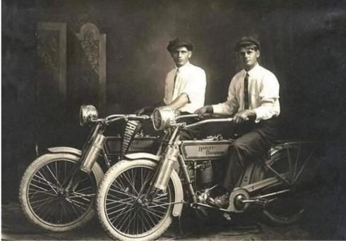 Harley and Davidson 1914