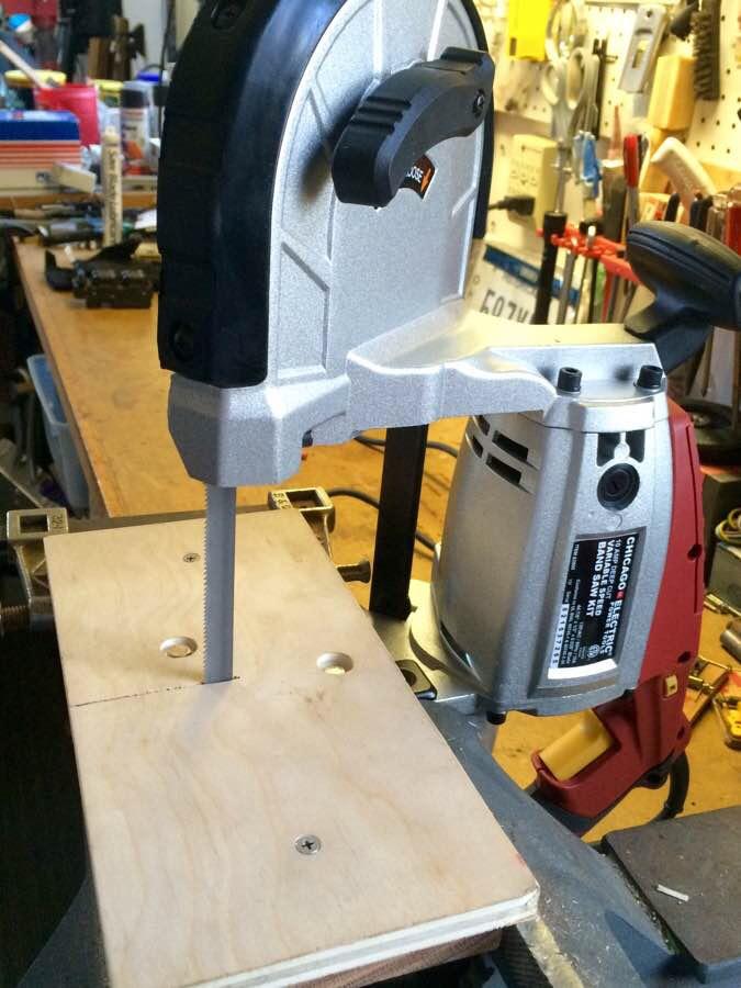 Portable Bandsaw Table