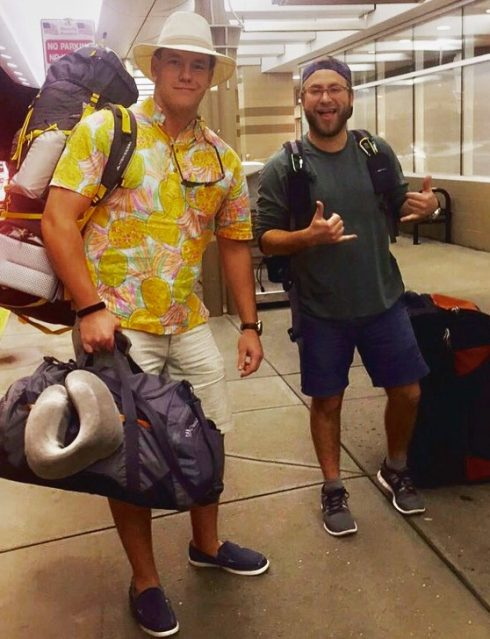 Cam and Taylor off to Hawaii 2016
