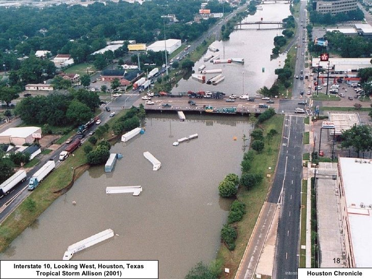 In the Greater Houston/Southeast Texas region, an estimated 9 trillion gallons (34 km3) of rain had fallen by the afternoon of August 27, more than any ...