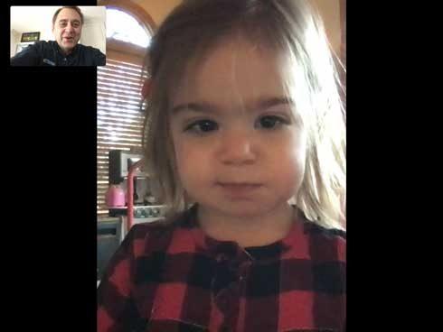 FaceTime with Annalyn 190112