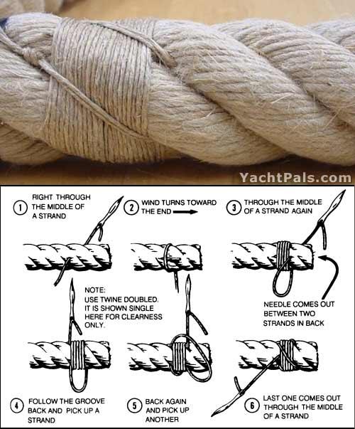 sailmaker's rope whip