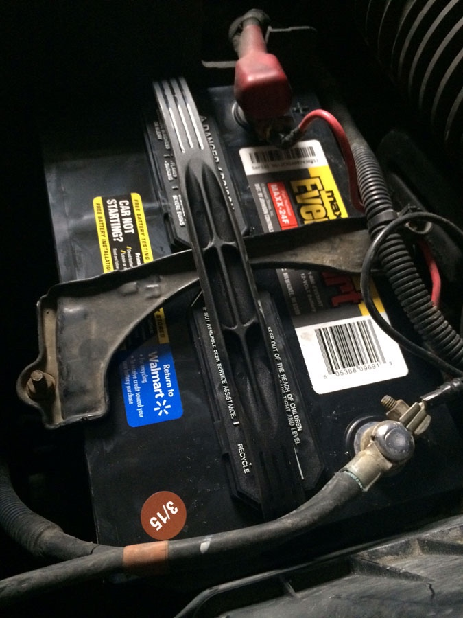 Another battery for my high-mileage 2006 Honda Pilot | My